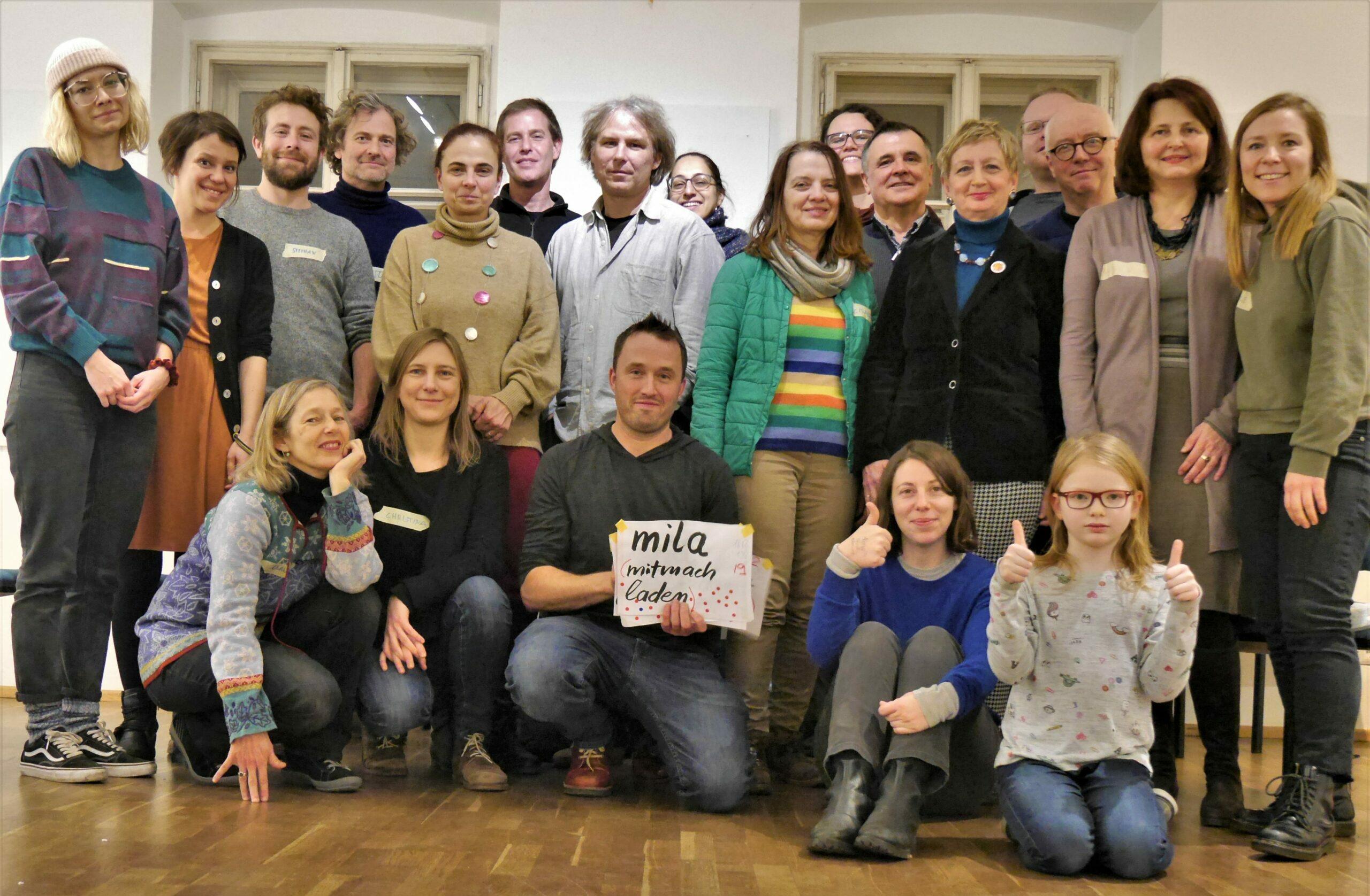 Gründungsversammlung im Amerlinghaus am 17. Jänner 2020